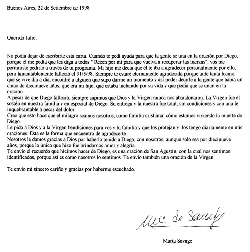 Julio Lagos Cartas Y Dedicatorias